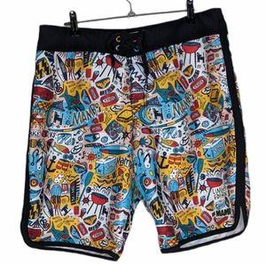 Mambo x Kirks collab shorts Mens